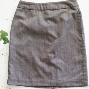 Banana Republic Brown/Tan Pencil Skirt